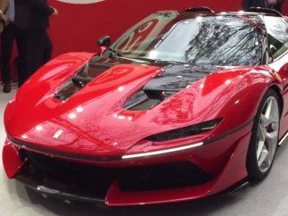 7. Ferrari J50 (2.500.000 €)