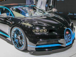 6. Bugatti Chiron (2.393.000 €)