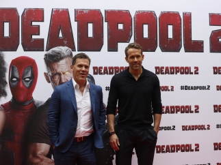 Ryan Reynolds y Josh Brolin presentan 'Deadpool 2' en Madrid