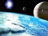 Planeta extrasolar y satelite similar a la tierra
