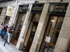 Imagen del mítico restaurante Pitarra, en Barcelona.