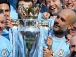 El Manchester City, campeón de la Premier