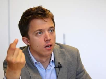 Íñigo Errejón, secretario de Análisis Estratégico y Cambio Político de Podemos.