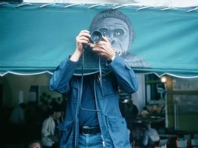 Autorretrato. Elliott Erwitt. France. Saint Tropez. 1979