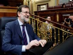 """Rajoy: """"Se quitará el 155 en Cataluña cuando haya un Gobierno normal, sin encarcelados ni huidos"""""""