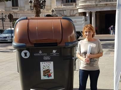 Extensión del contenedor de materia orgánica en València