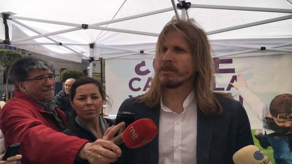 Pablo Fernández en Burgos.