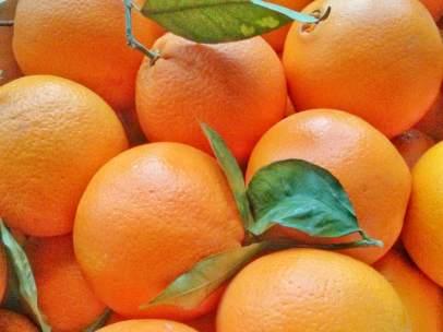 Las cajas de frutas