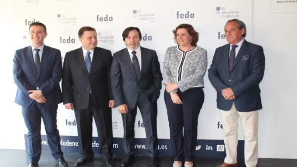 Consejera de Economía en asamblea de Feda