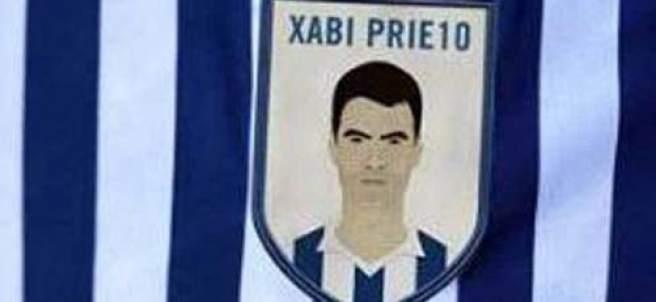 El escudo de Xabi Prieto que lucirá la Real