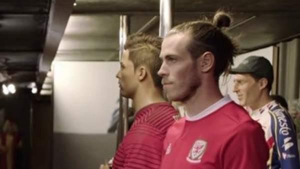 Gareth Bale en el museo de cera