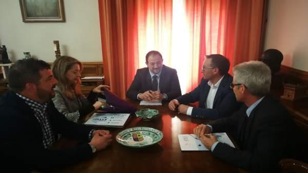 La reunión se ha celebrado hoy en la sede de la Diputación de Teruel