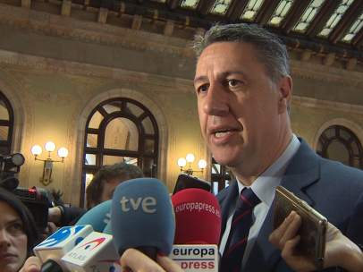 Albiol comparece sobre la dimision de Cifuentes en el Parlament de Cataluña