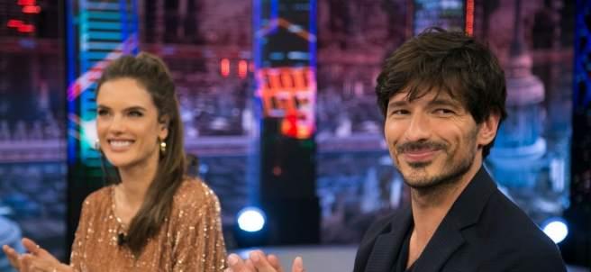 Andrés Velencoso y Alessandra Ambrosio