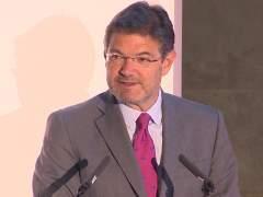 Rafael Catalá en la inauguración de la iv edición del 'open de arbitraje 2018'