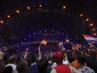 Festival de Eurovisión 2018 durante su segunda semifinal