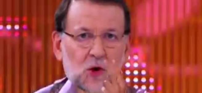 Rajoy, parodiado