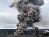 Columna de ceniza del Kilauea