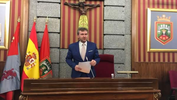 Javier Lacalle, alcalde de Burgos.