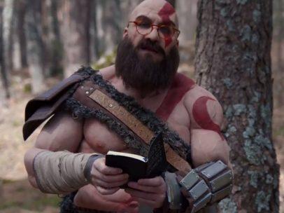Joaquín Reyes, como Kratos de 'God of War'