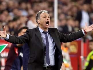 Joaquín Caparrós, técnico del Sevilla