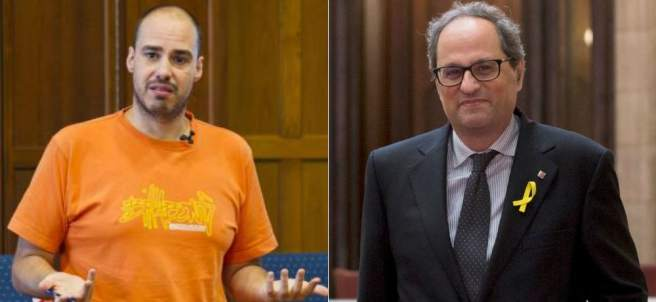 Antonio Pampliega y Quim Torra