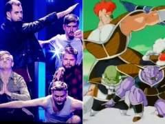 Hungría la lía en Eurovisión imitando a las fuerzas especiales Ginyu