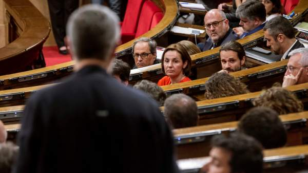 Quim Torra y Carles Rier