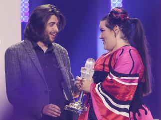 Salvador Sobral y Netta