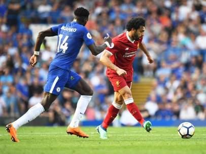 Mohamed Salah, jugador del Liverpool.