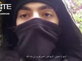Vídeo del supuesto atacante de París