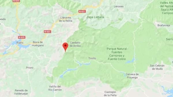 Pico Espigüete, en el término municipal de Velilla del Río Carrión