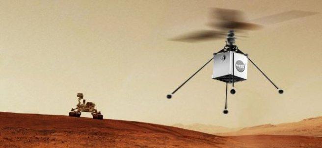 Helicóptero de la NASA