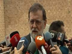 """Rajoy, dispuesto a la """"concordia"""" con Torra."""