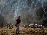 Gases y fuego en Gaza