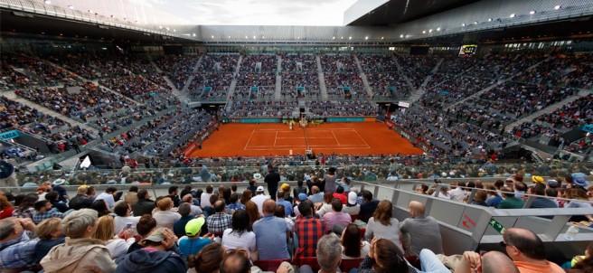 Final del Mutua Madrid Open 2018 en la Caja Mágica