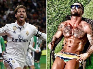 Sergio Ramos y su primo 'cachas'