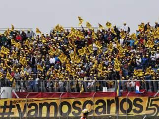 Aficionados de Carlos Sainz