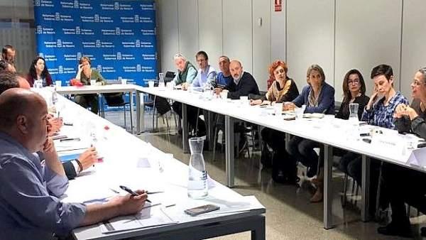 Participantes en la mesa sobre despilfarro alimentario