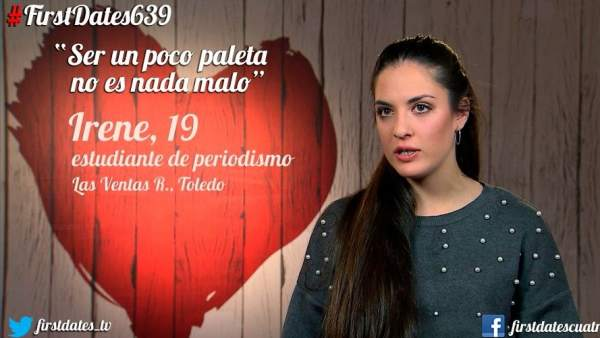 Irene en 'First Dates'