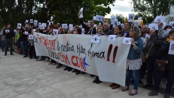 Concentración, este lunes ante la Subdelegación del Gobierno de Lleida