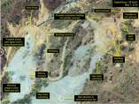 Centro de pruebas nucleares en Corea del Norte