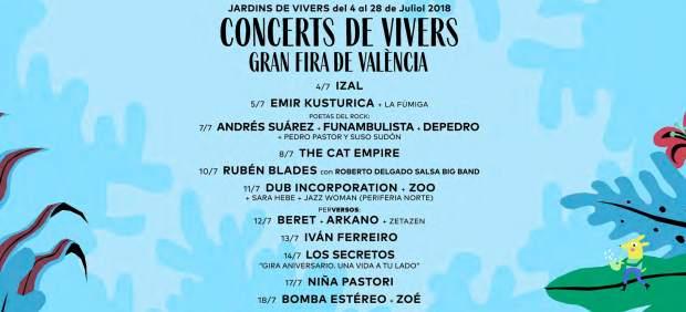 Denuncian precios triplicados en reventa para los conciertos de julio de València
