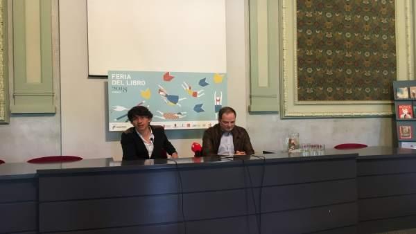 Presentación de la Feria del Libro de Burgos.