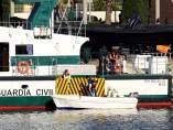 Barca donde viajaba el niño muerto en Algeciras