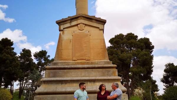 Monumento franquista Villarrobledo