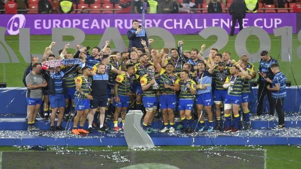 Imagen de Archivo. Finales europeas de Rugby