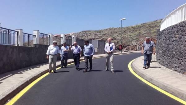 Resultado de imagen de Aguas invierte 1,7 millones de euros en nuevos colectores en Santa Cruz