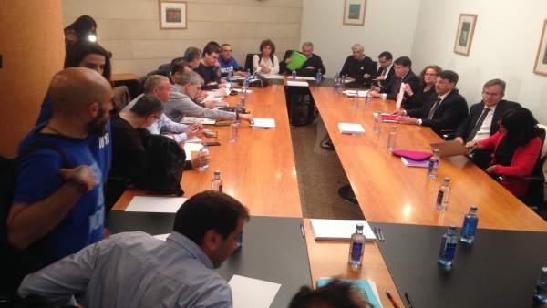 Mesa sectorial de justicia, con Xunta y sindicatos