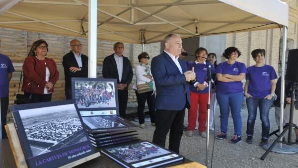 Presentación de 'La Cartuja de Monegros, echando raíces'
